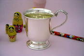 Christening Cup - Large from L J Millington Silversmiths Birmingham West Midlands UK