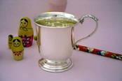 Christening Cup - Large from L J Millington Silversmiths Birmingham West Midlands UK