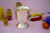 Christening Cup - Small from L J Millington Silversmiths Birmingham West Midlands UK