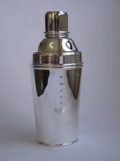 Cocktail Shaker from L J Millington Silversmiths Birmingham West Midlands UK