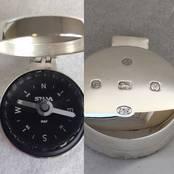 Compass Case from L J Millington Silversmiths Birmingham West Midlands UK