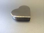 Paperweight - Heart from L J Millington Silversmiths Birmingham West Midlands UK