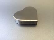 Paperweight - Heart from L J Millington Silversmiths Birmingham West Midlands UK