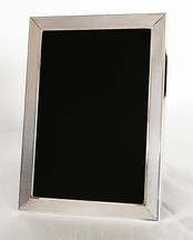 Photograph Frame- Barley with wider 3/4&#34 border from L J Millington Silversmiths Birmingham West Midlands UK