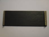 Slate Cheeseboard - with silver mounted handles from L J Millington Silversmiths Birmingham West Midlands UK
