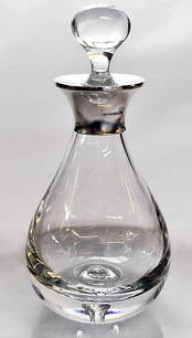Teardrop Decanter from L J Millington Silversmiths Birmingham West Midlands UK
