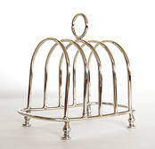 Toast Racks from L J Millington Silversmiths Birmingham West Midlands UK
