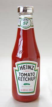 Tomato Ketchup Lid from L J Millington Silversmiths Birmingham West Midlands UK