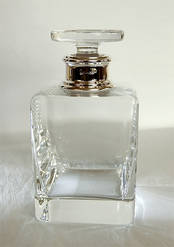 Whisky Decanter 1.1ltr from L J Millington Silversmiths Birmingham West Midlands UK