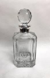 Whisky Decanter from L J Millington Silversmiths Birmingham West Midlands UK